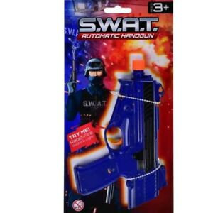 SWAT Police Pistol & Sound Toy Gun Role Play Accessory Gift with great Sound
