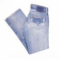 Vintage LEVI'S 501 Regular Straight Fit Men's Blue Jeans W31 L32