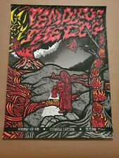 Temple of the Dog 2016 Los Angeles Poster Ames AP!!  S/N Pearl Jam Cornell