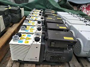 Agilent/Varian DS 102 DS102 Rotary Vane Vacuum Pump, working