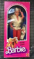 Horse Lovin' Western Barbie Doll Mattel No. 1757, Unopened Box 1982 NIB