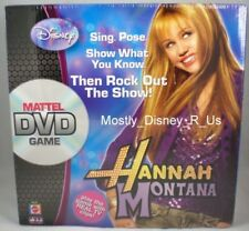 New Disney Channel Mattel Hannah Montana DVD Board Game 2007 Miley Cyrus Sealed