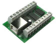 PacDrive USB driver board. With USB Cable by Ultimarc GREAT FOR MAME NEW