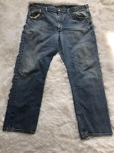 VINTAGE ORIGINAL LEE RIDERS  Denim Jeans work pant Sz 44x19