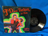 JD and Tarzan n' Em LP Humor in Concert BMC SLP 4319 Rare Elvis Presley Related