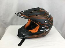 Medium AFX Motor Cross Helmet Orange