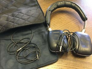 Bowers & Wilkins Black And Silver Wired Headphones - Used