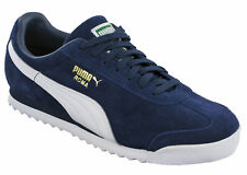 Puma Roma Mens Trainers Sports Leather Suede Fashion Lace Up Running Shoes