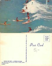 USA Hawaii Riding a surf - a sport for kings YEARS '60 (R-L 140)