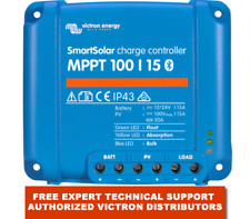 Victron Energy SmartSolar MPPT 100/15 15 Amp Bluetooth Inside Free EU Delivery