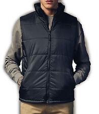 Men's Polyester Gilets Bodywarmers Zip Collared Coats & Jackets