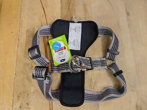 Kong XL Gray Comfort + Reflective Padded Harness NEW FREE SHIPPING