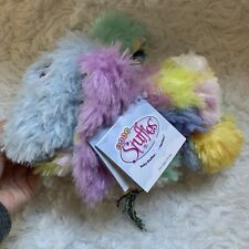 NWT Zoomworks Stuffies Patches Baby Plush Bunny Secret Pockets & Magnetized Paws