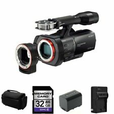 Sony Handycam NEX-VG900 Camcorder + 2 Batteries, Charger, 32GB, Case + More!