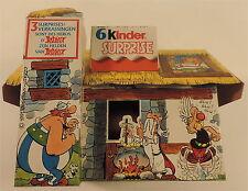 Asterix Maison Kinder en CARTON 1991 Uderzo RARE
