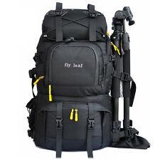 "Large Waterproof DSLR SLR Camera Backpack Rucksack 15.6"" Laptop Bag Rain Cover"