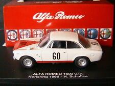 ALFA ROMEO 1600 GTA #60 NORISRING 1966 SCHULTZE M4 7177 1/43 ITALIA ITALIE ITALY