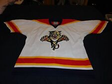New Florida Panthers NHL authentic NHL hockey jersey 52-R w/ Fight Strap