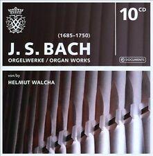 J.S. Bach - Organ Works / Orgelwerke - Helmut Walcha - 10 CD Import Box Set Rare