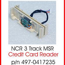 Magnetcard Lecteur de Carte Magnétique Ncr Dynakey 497-0417235 Msr-3 Piste Top