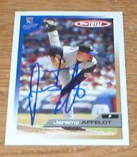 Giants Jeremy Affeldt Autographed Card