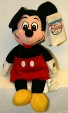 Classic Mickey Mouse  8 Inch Disney Bean Bag NWT