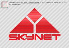 Skynet Sticker Die Cut Decal Self Adhesive Vinyl terminator cyberdyne