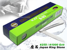 Sharpening Stone Made in Japan King Combination Whetstone #250/#1000 Grit