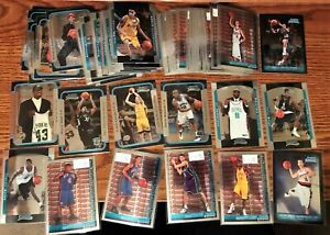 2003-04 TO 2006-07 BOWMAN CHROME ROOKIE LOT (61) DIFFERENT NATE FRYE ARIZA RC