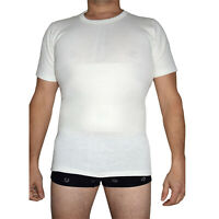 maglia e pancera in lana e cotone intima uomo contenitiva t-shirt made in italy
