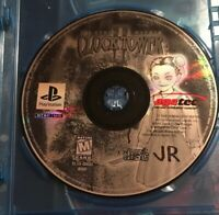 Clock Tower II: The Struggle Within PlayStation 1 1999 PS1 Game Disc Only Ps2 2