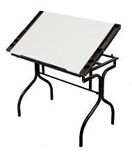 Artist Drawing Table Adjustable Craft Desk Drafting Folding Workstation Steel