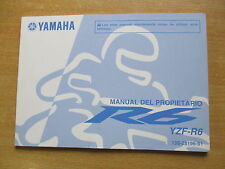Manual del propietario Yamaha YZF - R6 (13S) 2009  Fahrerhandbuch