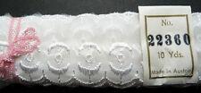 10 Yds Delicate Vintage Austrian Lace Trim - 3cm Wide