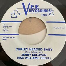 "Jerry Sullivan - Curley Headed Baby // 7"" - US-Pressing - RE von 1959 - TOP cond"