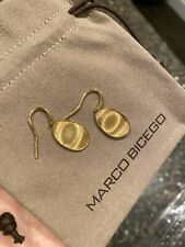 marco bicego 18k earrings Limited Addition Designers Initials On It