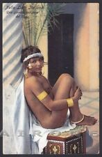 LIBIA ITALIANA 17 NUDE WOMAN ETHNIC original print Postcard - Lehnert & Landrock