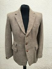 "Vintage Men's 1940's Early Harris Tweed Blazer 38"" Chest"