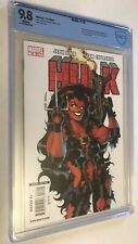 New listing Hulk 16 Cbcs 9.8 1st full Red She-Hulk (Elizabeth Ross) White Pages