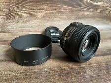 """Nikon 50mm F/1.4 G AF-S Lens + Hood """"Excellent Condition"""""""