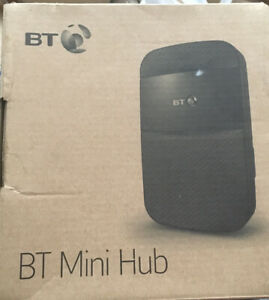 BT Mini Hub WiFi Ethernet Network Range Extender - Used, Excellent condition