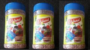 3 packs x Ekland forest fruit granulated tea, 350 g.