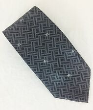 "Burberry London Silk Tie. Dark Gray. 4"" Wide. NWOT."