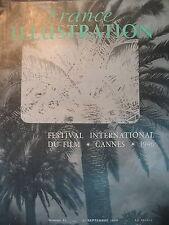 FESTIVAL INTERNATIONAL DU FILM CANNES ECOLE DU CINEMA FRANCE ILLUSTRATION 1946