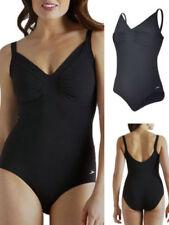 Abbigliamento neri in lycra per il mare e la piscina da donna taglia 44