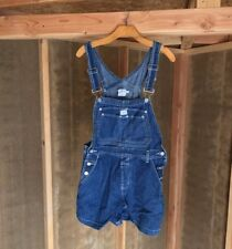 VINTAGE New Calvin Klein Blue Denim Overalls Indigo Women's Size Small