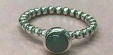 PANDORA Ale Grey Moonstone Bubble Ring 190157MSG Retired RARE 925 Gray