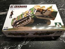 "TAKOM 1/35 WW 1 FRENCH "" ST. CHAMOND  "" EARLY TYPE HEAVY BATTLE TANK # 2002 F/S"