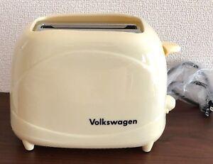 Tostadora Volkswagen Original Limitado VW Interior Nuevo sin Usar Japón