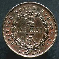 1 CENT 1896 BORNEO du NORD / NORTH BORNEO - malaisie